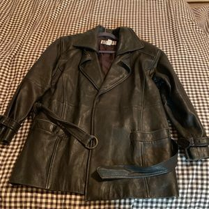 Other - Authentic Vintage Leather Jacket